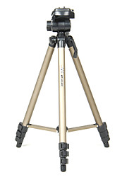 WT3150 1280mm Portable Professional Tripod Head for Camera