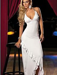 LoveTime European-Styled Sexy Long Dress(White)
