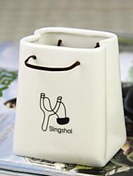 Japanese Style Slingshot Tall Ceramics Bag