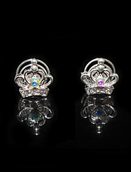 Good Two Pieces Alloy Wedding Bridal Hairpins With Rhinestones