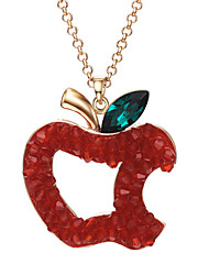 Xinguang Fashion Apple Shape Crystal Pendant