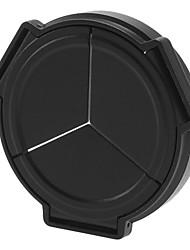 NEWYI Automatische lensdop voor Panasonic DMC-LX5 (Zwart)