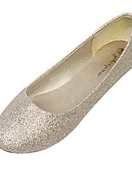 cintilante brilho / bailarina calcanhar plana das mulheres sapatos flats (mais cores)