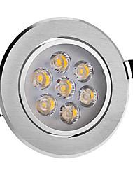 8 W 7 Krachtige LED 560 LM 3000 K Warm wit Plafondlampen AC 220-240 V