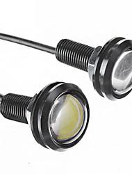 Ampoule R25 3W 210LM 6000K blanc froid lumière LED pour voiture (DC 12,2 pc)