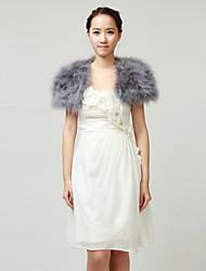 Nizza Ostrich Fur Hochzeit / Party Wraps / Jackets (weitere Farben)