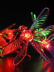 3.5M 30-LED RGB Light LED Solar Strip Light for Christmas Decorations