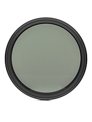 fotga® 62mm delgado ND del atenuador de filtro ajustable nd2 densidad neutra variable para ND400