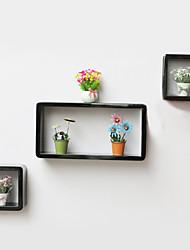 Modern Creative Carbon Fiber Stoage Shelf Set - 3 Colors Available