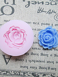 New One Hole Rose Silicone Mold Fondant Molds Sugar Craft Tools Resin flowers Mould Molds For Cakes