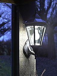 PIR Motion Sensor Solar Light / mur solaire Lumière / LED Feux en plein air (LEH-44240)