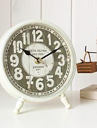 "7.5""H Iron Mute Tabletop Clock"