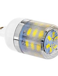 Bombillas Mazorca G9 4.0 W 24 SMD 5730 300 LM 6000-6500 K Blanco Fresco AC 100-240 V