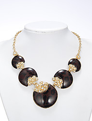 Rich Long Women's Black Necklace With Earring
