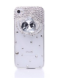 WWX Women's Crystal Crown Cell phone Case For Iphone4/4S WWX0013