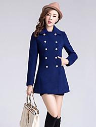 Mailljor Fashion Slimming Overcoat(Blue)