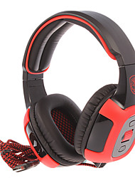 SADES SA-906 USB2.0 7.1 Sound Effect Over-Ear Gaming Headphone with Mic and Remote for PC