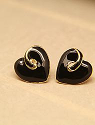 Aimer Motif de l'amour des femmes Stud Earing
