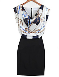 Women's Dresses , Chiffon Casual/Work Angleskingdom