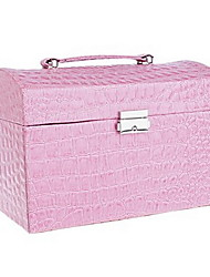 Elegant Alligator Pattern Jewellery Box