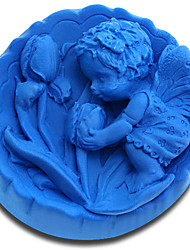 Angel Plant Silicone Handmade Soap/Cake/Chocolate Mold