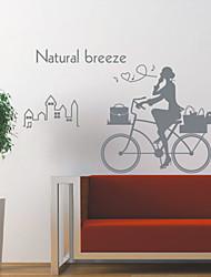 Personas Natural Breeze pegatinas de pared