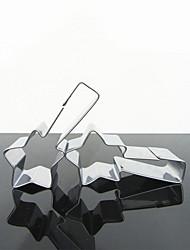 Voando Formato de Estrela Biscuit Cutter, aço inoxidável