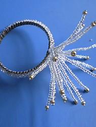 Forma d'artificio acrilico Napkin Ring, Dia4.2-4,5 centimetri set di 12