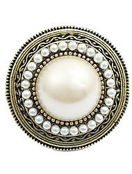 Comercio de la joyería exagerada perla redonda de Europa y América Hat R286