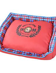 Уютная Pattern Проверки квадратной формы руно теплая постель для собак Домашние животные (разные цвета, размеры)