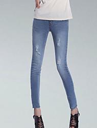 PIES uper de las mujeres elegantes de la delgada larga Skinny Jeans