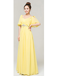 Women's Dresses , Chiffon Sexy/Cute/Party YHZ