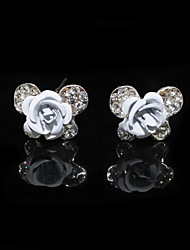 Two Pieces Alloy Butterfly Shape Wedding Bridal Hairpins With Rhinestones(More Colors)