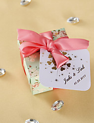 Personalized Favor Tags - Sparkling Hearts (set of 36)