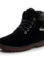 botas para la nieve de los hombres con la borla