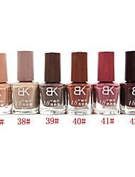 BK Solid Color Nail Polish No.37-42