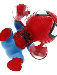 DIY Spider Man moto Décoration (Rouge)