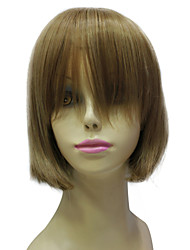 Capless Synthetic Short Brown Bob Hair Wig Fashion Short Wig