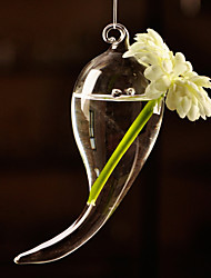 Table Centerpieces Horn Shaped Glass Vase  Table Deocrations