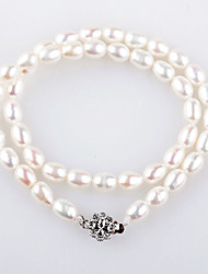 Yueren Elegant Pearl Necklace With Gem Identification Certificate