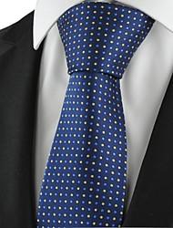 Pois Marine Or Classique Hommes Cravate Souvenirs partie formelle de cravate