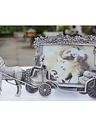 "5.25""H European Style Metal Picture Frame"