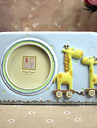"7.25""H Cartoon Style Giraffe Table Top Picture Frame"