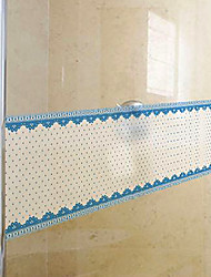 Country Style frais Pois Shivering Window Film