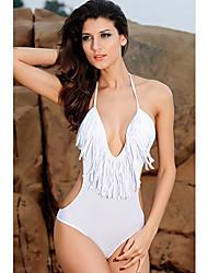 Ultra-sexy com decote em V de uma peça Swimsuit
