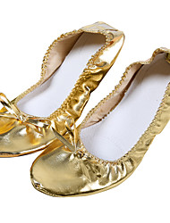 Professional Women's Leather Belly Dance Practice Shoes