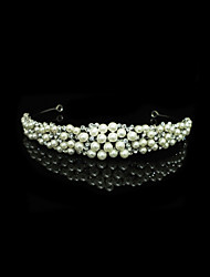 Women's Rhinestone/Alloy/Imitation Pearl Headpiece - Wedding/Special Occasion Tiaras