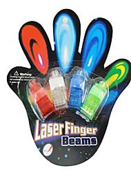 5pcs/lot, Couleur LED brillant bague de laser de jouets