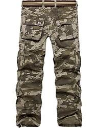 Herren Hot Fashion Plus Size Camouflage Cargo Pants