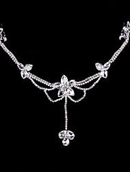 Alloy Forehead Jewelry With Rhinestone Wedding/Party Headpiece